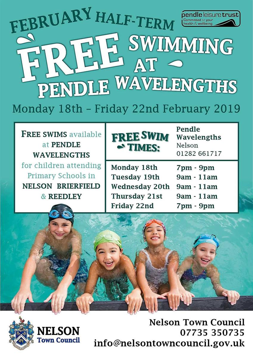 Free swimming lesson posters